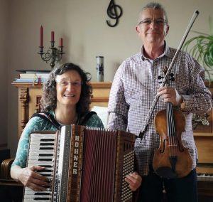 Das Duo Cantabile fand großen Anklang bei unserem 2. Livestream Konzert