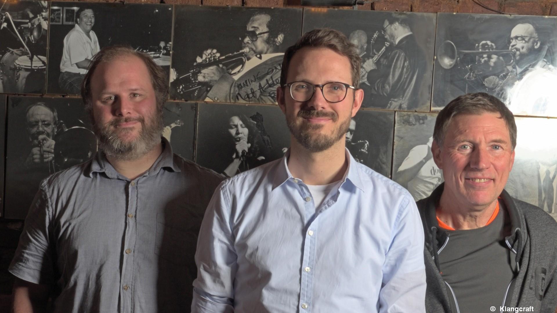 Das Klangcraft Trio spielte hochkarätigen Jazz