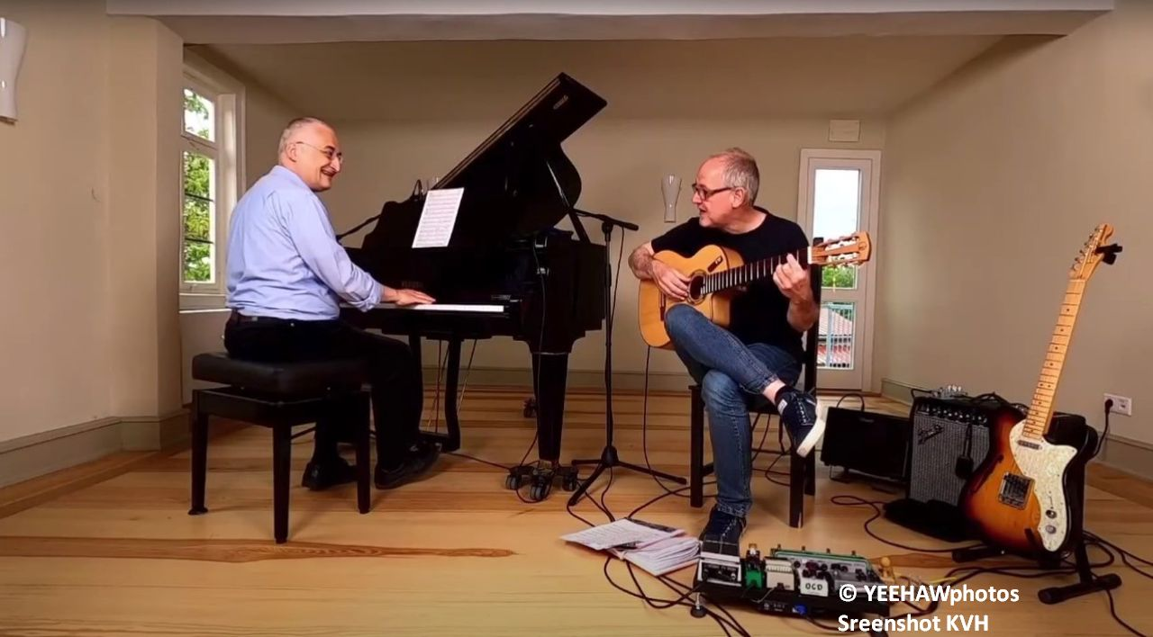 Streaming Jazz-Konzert Hertel/Höhn auf YouTube