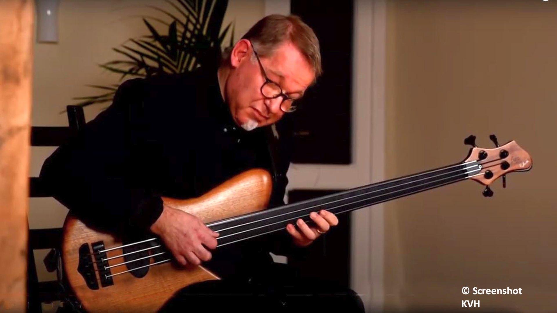 Neuntes Live Stream Konzert mit Ralf Gauck am Bass jetzt online